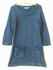 Women's Long Sleeved Jumper Dress, Knitted material with Pockets, UK size 8