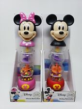 Disney Mickey Minnie Mouse Rainmaker Toy Rattle Baby 18 Months Light Up New