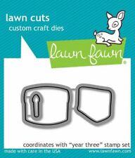 YEAR THREE LF1014 - LAWN FAWN Lawn Cuts Steel Craft Dies Made in USA