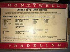 "Honeywell L4069A 1078 Limit control Switch w/ 3"" Insertion w/Free Shipping"
