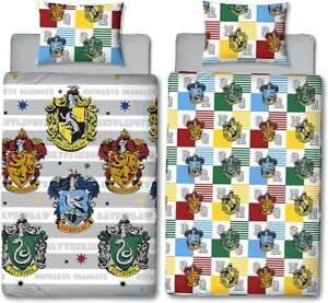Harry Potter Quarters Single Double Duvet Cover Reversible Bedding Set