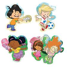 Fisher Price Little People 4 bagno Puzzles (2 - 4 pezzi) - NUOVO di zecca per bambini