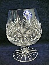 THOMAS WEBB CRYSTAL BRANDY GLASS  REGENCY PATTERN NEW