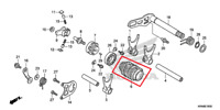 NEW HONDA OEM GEARSHIFT DRUM CRF250R 14 15 16 17 GEAR SHIFTER SHIFT SELECTOR