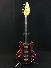 1968 Italy Vox Skybolt IV Bass V282 Cherry Red EX+ Cond.