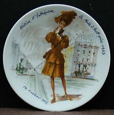 """Sammelteller von D Arceau Limoges """" Helene la Mode a tout prix 1943 """" !!! Nr. 1"""
