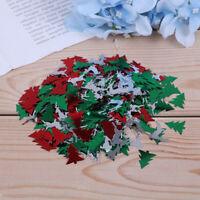 15g/bag Christmas Tree Snowflake Deer Shaped Christmas Table Confetti Sprin TDO