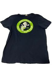New listing Mens Hollister California Surf Team T-Shirt Size Large Blue Color