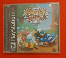 PLAYSTATION ONE PS1 SMURF RACER NEW AND FACTORY SEALED!