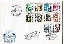 1982 FDC San Marino I pionieri della scienza First Day Cover