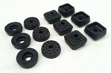 MAZDA 1000 UTE PICKUP RUBBER CAB BODY TO CHASSIS MOUNT MOUNTING RUBBERS SET 12PC