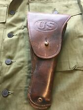 WW2 US M1916 Leather Flap Holster For Colt 1911  SEARS