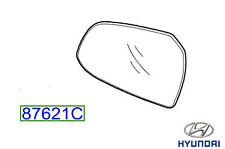 Genuine Hyundai i10 2017 Wing Mirror Glass LH - 87611B9010