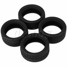 4x Leaves Pattern RC Racing Rubber Tires for 1:10 On-Road Racing Car Durable