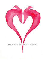 Greyhound Whippet Lurcher art print painting Birthday Gifts Xmas Gift Italian