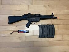 Metal Airsoft MP5 with Magazines and Battery