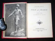 POUR LA FRANCE - LIVRE D'OR ENFANTS DU PEUPLE - F. BENASSIS - E. ARDANT 1892 ?