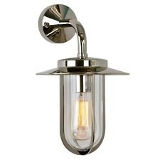 Astro Lighting 0484 Montparnasse Nickel Exterior Wall Light Ip44