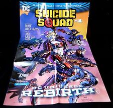 5 Suicide Squad Movie Promotional Posters Harley Quinn New 2016 Poster DC Comics