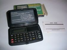 Personal Organizer Electronic Pocket Data Bank 688 Bytes Memory