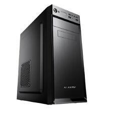Alantik Middle Tower Case con Alimentatore 500W per PC - Nero (CASA21)