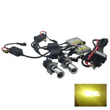 Headlight H4 Canbus Pro HID Kit 3000k Yellow 35W Fits Peugeot RTHK1661