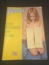 [7723-M16] Pirana - Mens Magazine - Curiosa - Revue