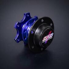 Dnd Performance Spline Quick Release For 6 Bolt 70mm Pcd Steering Wheels Blue