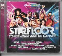 2 CD COMPIL 45 TITRES--STARFLOOR 2011--LMFAO/PITBULL/SPEARS/SOLVEIG/LADY GAGA...