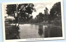 *Riviere Bayonne Berthierville Quebec Canada Vintage Postcard C89