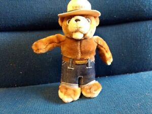 "Vintage Smokey The Bear 9"" Tall Bear Plush"