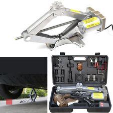 5T Automatic Electric Jack Scissor Lift Garage Vehicle Tire Repair Tool America