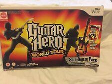GUITAR HERO WORLD TOUR PER NINTENDO Wii-Boxed-GIOCO INCLUSO