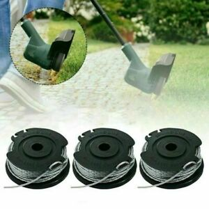 3PCS FOR BOSCH ART 23 26 SL Strimmer Trimmer Line Spool Feed Wire 4m 1.65mm - UK