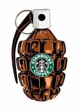 USA Death NYC lithografic print 'Starbuck's handgranate' - signed and nr - COA