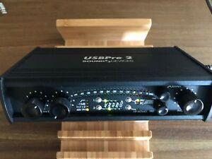 Sound Devices USBPre 2 Professional USB Audio multipurpose interface. Excellent