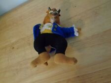 DISNEY BEAUTY AND THE BEAST PLUSH BODY HARD FACE SMALL BEAST DOLL FIGURE