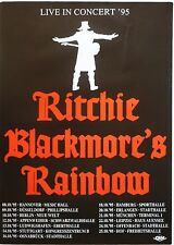 RITCHIE BLACKMORE'S RAINBOW 1995 GERMAN CONCERT TOUR POSTER