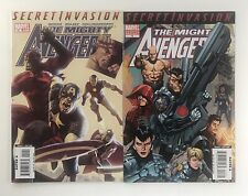 Mighty Avengers (2007) # 12 and 13 (2nd Printing Variant) NM