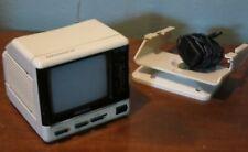 "Vintage 1989 MAGNAVOX Model BH 3907 Portable 4.5""Analog TV - Tested & Works"