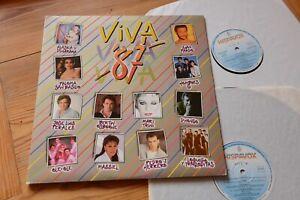 Viva 87 sampler mit spanischen Hits 2 LP Hispavox 26 1205 3