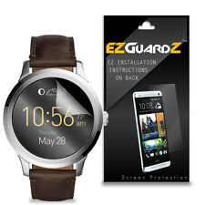 2X EZguardz LCD Screen Protector Cover HD 2X For Fossil Q Founder Smartwatch