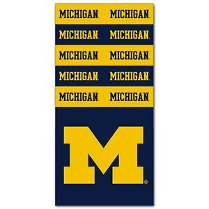 "Michigan Wolverines NCAA Superdana Neck Gaiter Scarf/Face Mask FREE SHIP"""