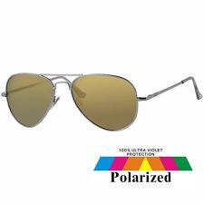 Unisex Fashion Revex Polarized Aviator Yellow Sunglasses & Drawstring Case 306Ye