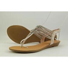 Sandalias y chanclas de mujer Madden Girl de tacón bajo (menos de 2,5 cm) de lona