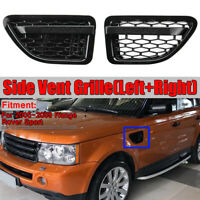 For 2005-2009 Range Rover Sport Side Fender Air Vent Grille Grill Honeycomb