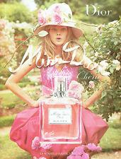 Publicité advertising 118  2010   eau toilette Miss Dior Chérie