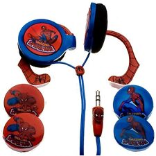 Nemo Digital Spiderman Interchangeable Graphic Chips Wrap Around Ear Phones