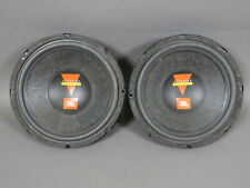 "Vintage Pair JBL GT102 10"" GT Series Subwoofer Car Stereo Speakers Made In USA"
