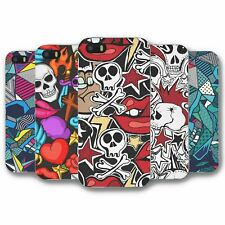 For iPhone 5 5S Silicone Case Cover Skulls Collection 7